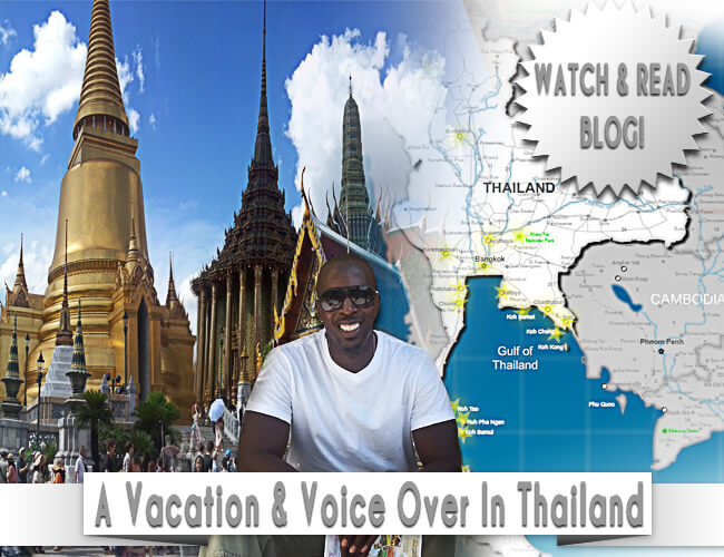 Voice Actor Dane Reid In Thailand