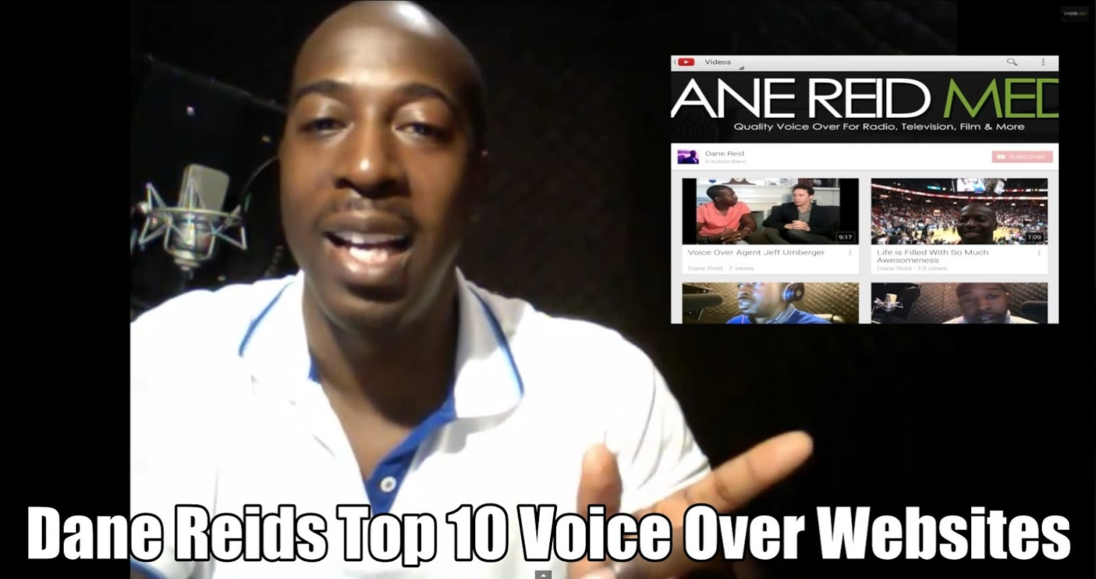 Dane Reids10 Top Voiceover Websites
