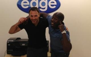 David Goldberg Edge Studio and Dane Reid