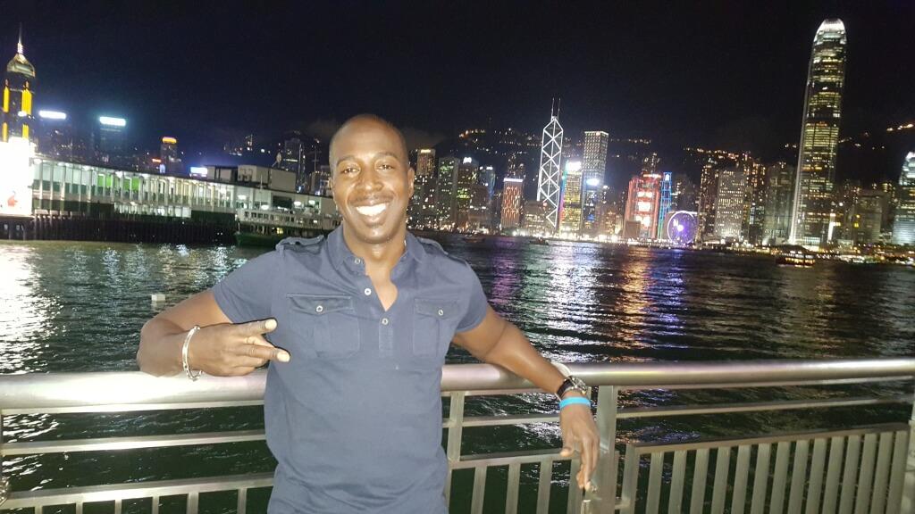Dane Reid In Hong Kong