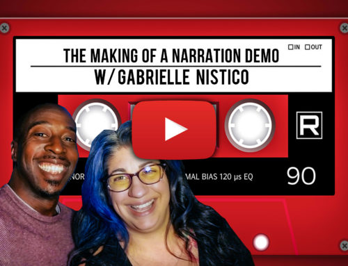 The Making Of A Narration Demo With Gabrielle Nistico