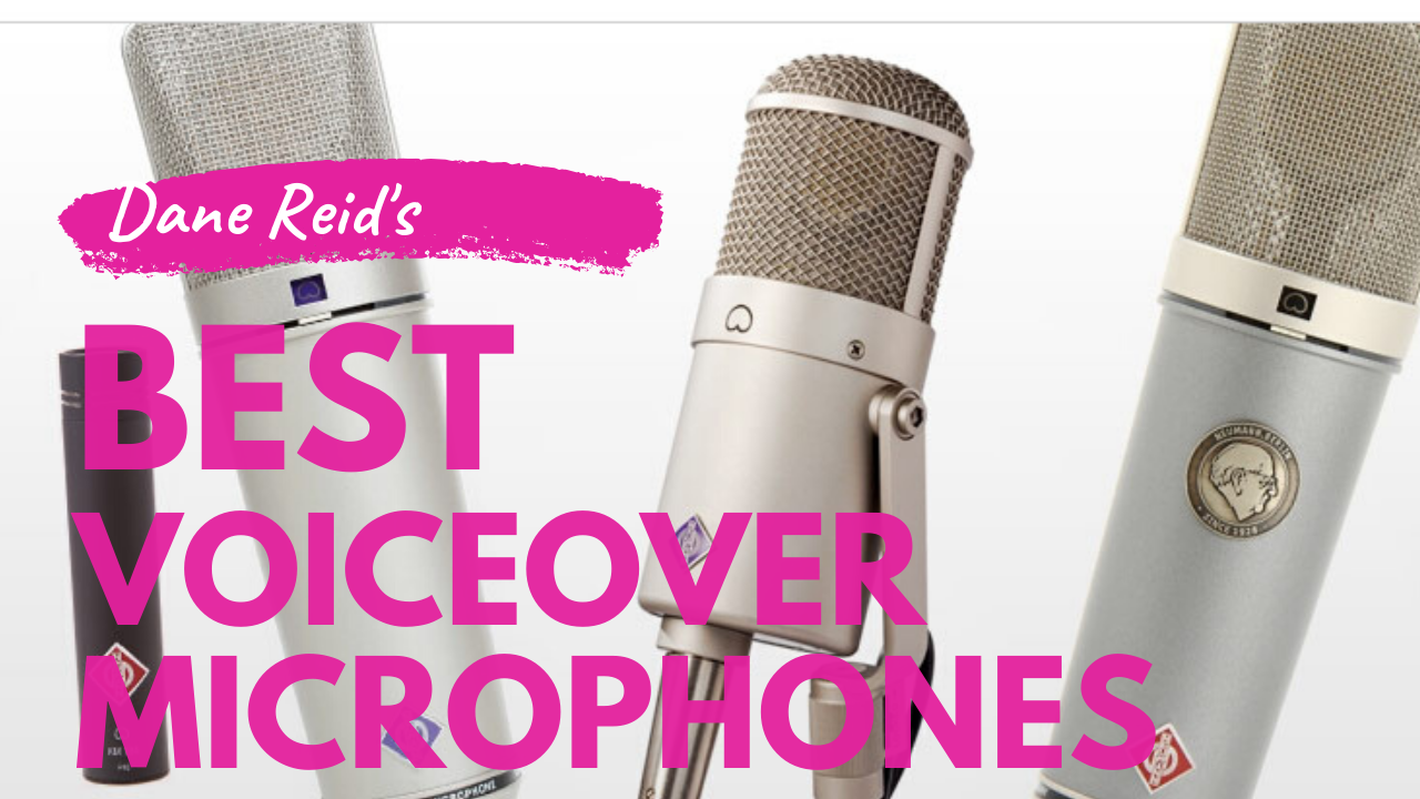 Top 3 Voiceover Microphones