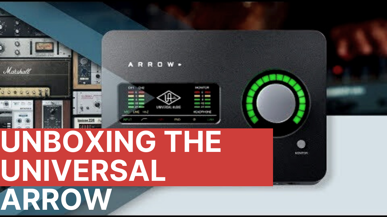 Voiceover Guy Unboxes Universal Audio Arrow
