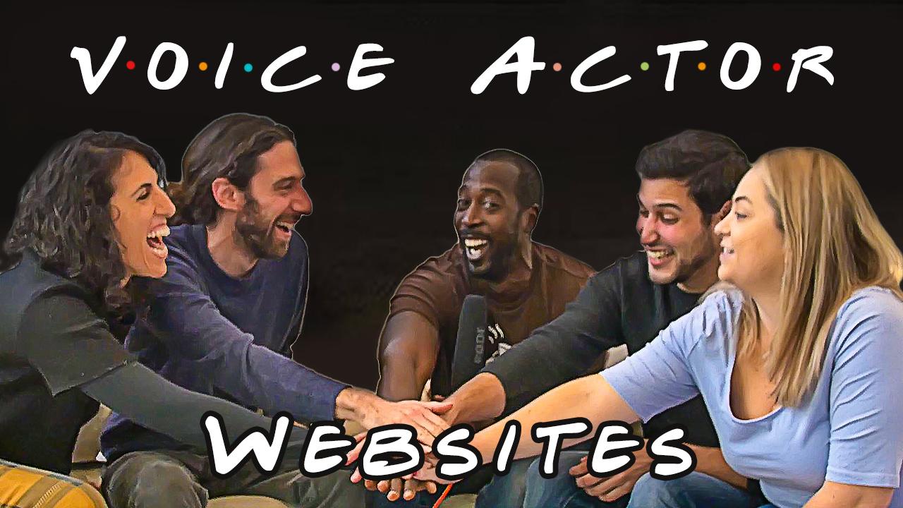 Voice Actor Websites